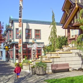 Ladner's Delta Street is a great place to do some shopping or people-watching.