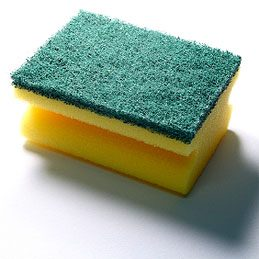 Store soap pads and sponges