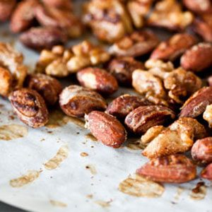 5. Spicy Maple Nuts
