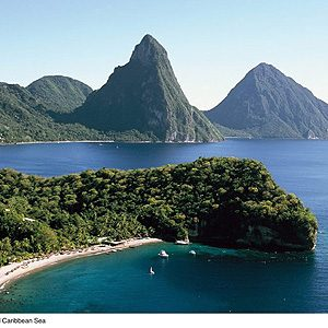 7. St. Lucia