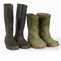 Uses for shortening: Polish Rain Boots