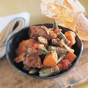 Lamb Stew with Sweet Potatoes