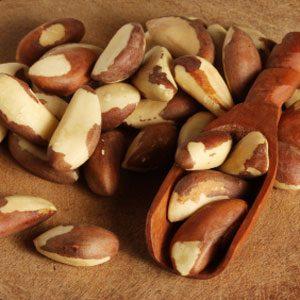 3. Brazil Nuts