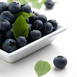 7. Blueberries