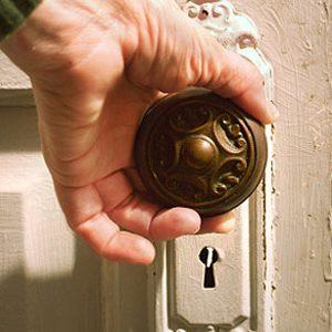 4. Polish a Loose Doorknob