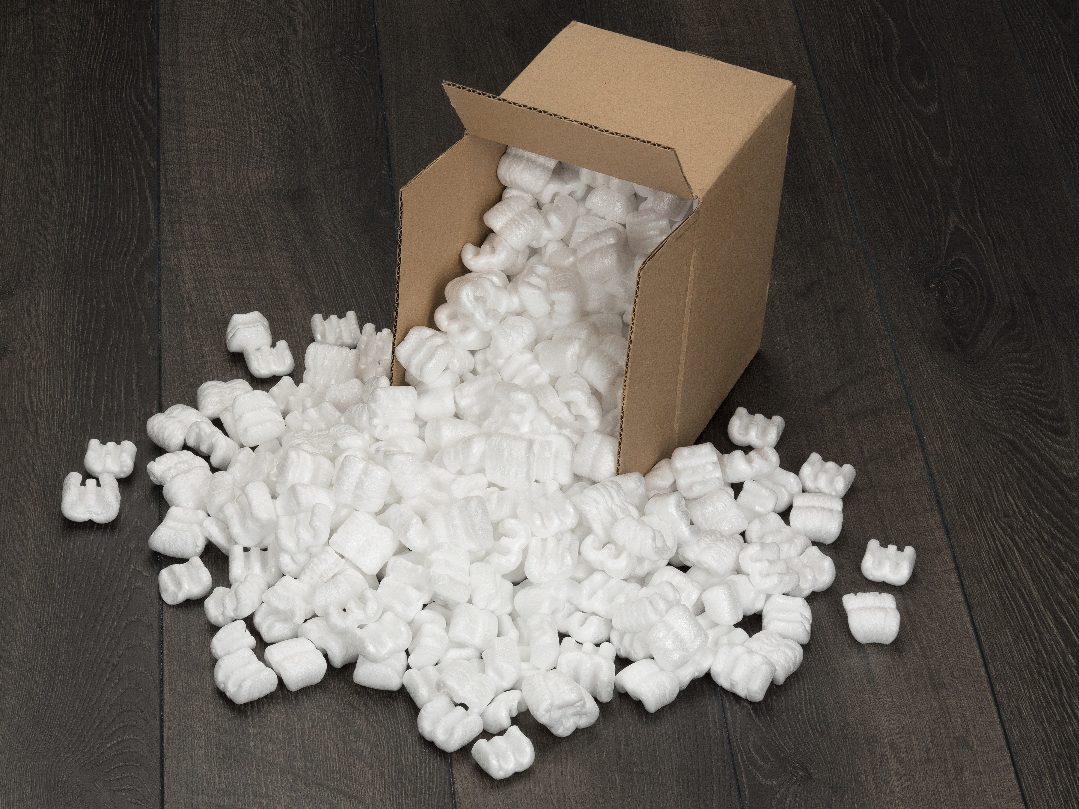 4. Use Styrofoam to Make Your Own Shipping Pellets