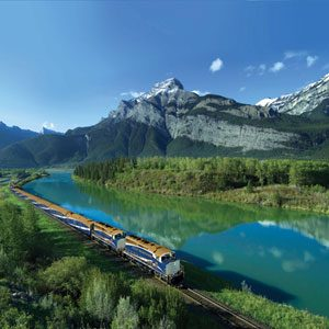 5. The Rocky Mountaineer
