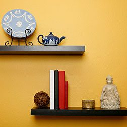 Add Floating Shelves to the Wall