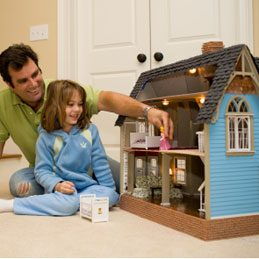 Things to Do With Buttons: Decorate a Doll's House