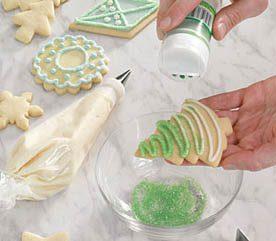 3. Flocking Sugar Cookies