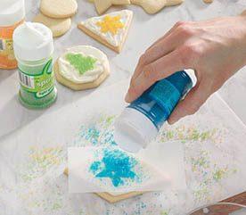 5. Stenciling Sugar Cookies