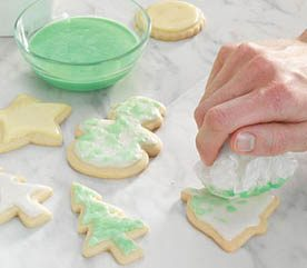 6. Marbling Sugar Cookies