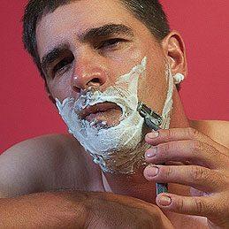 Zap Bleeding from Shaving Cuts
