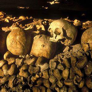 7. The Catacombs of Paris, Paris, France
