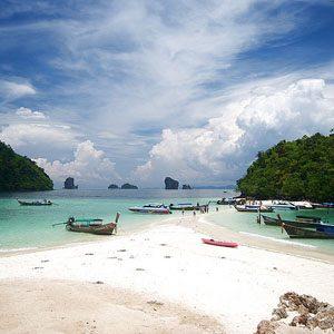 7. Andaman Sea beaches - Thailand