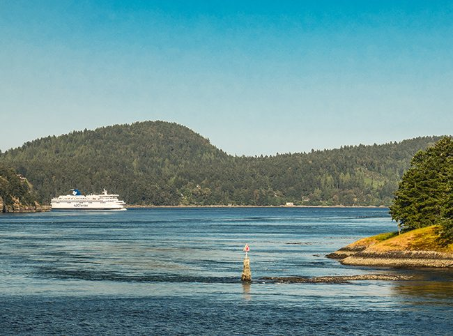 Active Pass in the Gulf Islands