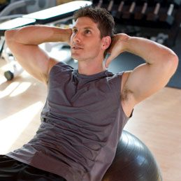 8. Try Abdominal Crunches
