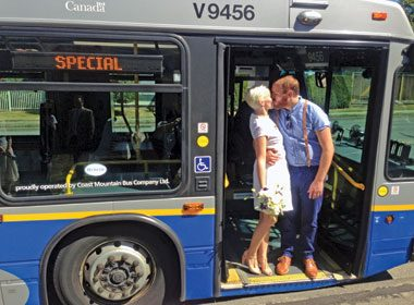 Love at First Sight on a Vancouver Bus