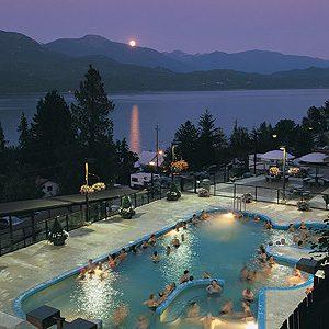 8. Ainsworth Hot Springs Resort, Ainsworth Hot Springs, B.C.