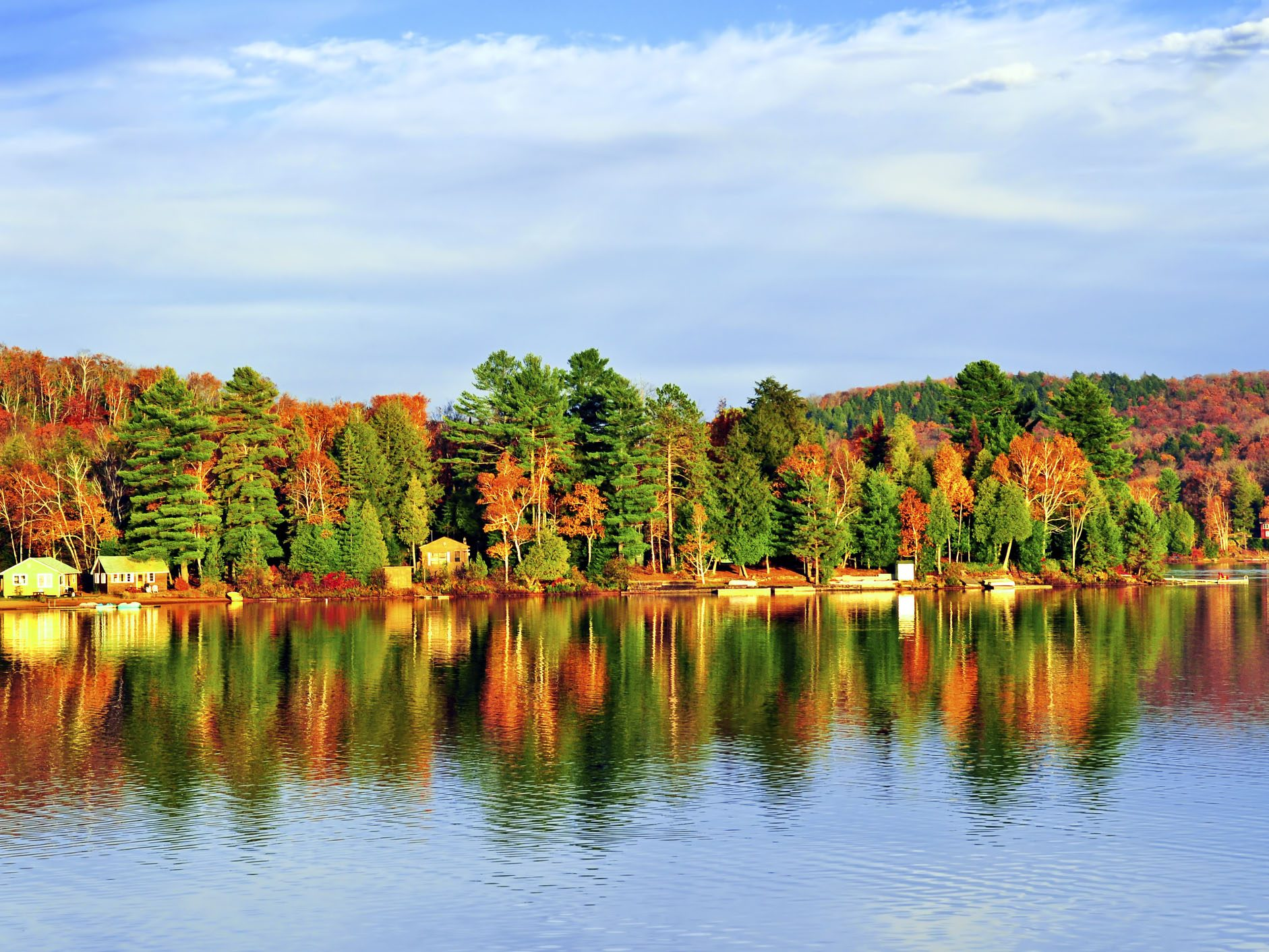 Fall camping destinations: Algonquin Provincial Park, Ontario