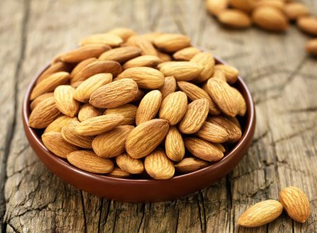 Almonds, Leafy Greens, and Other Vitamin E Sources
