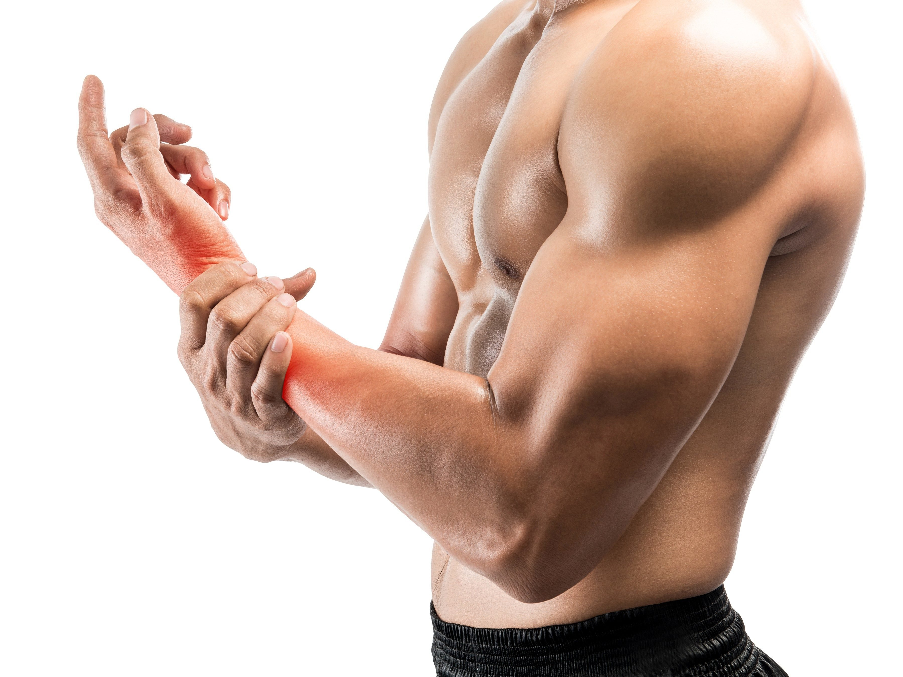 4. Apply a sports cream to sore muscles.
