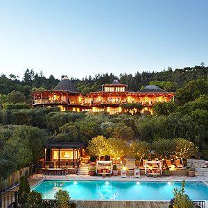 3. Auberge du Soleil - Napa Valley, California, U.S.A.