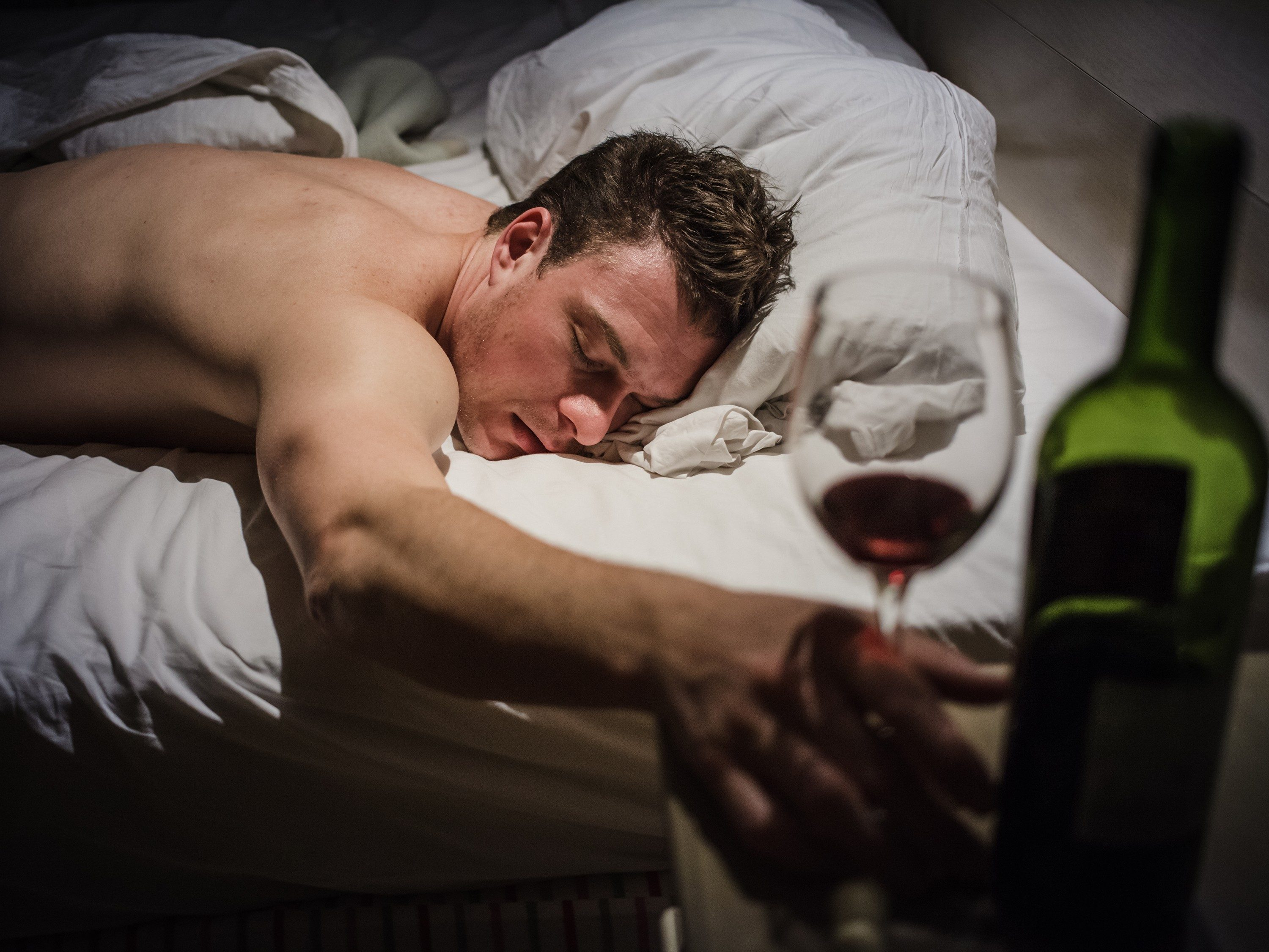 4. Avoid Alcohol Close to Bedtime