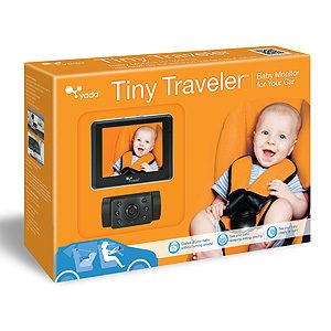 6. Yada Tiny Traveler Baby Monitor and Camera For Your Car