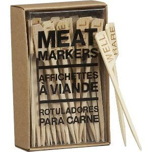 Crate & Barrel Meat Markers