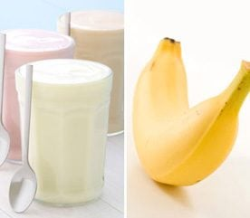 Refuel Post-Workout by Pairing Up Yogurt and Bananas