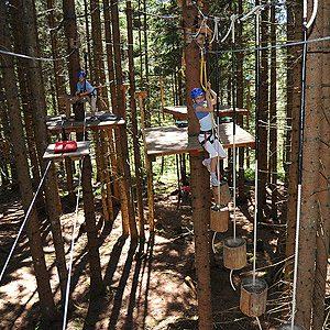 4. Camping in the Trees at Waldseilgarten, Bavaria, Germany