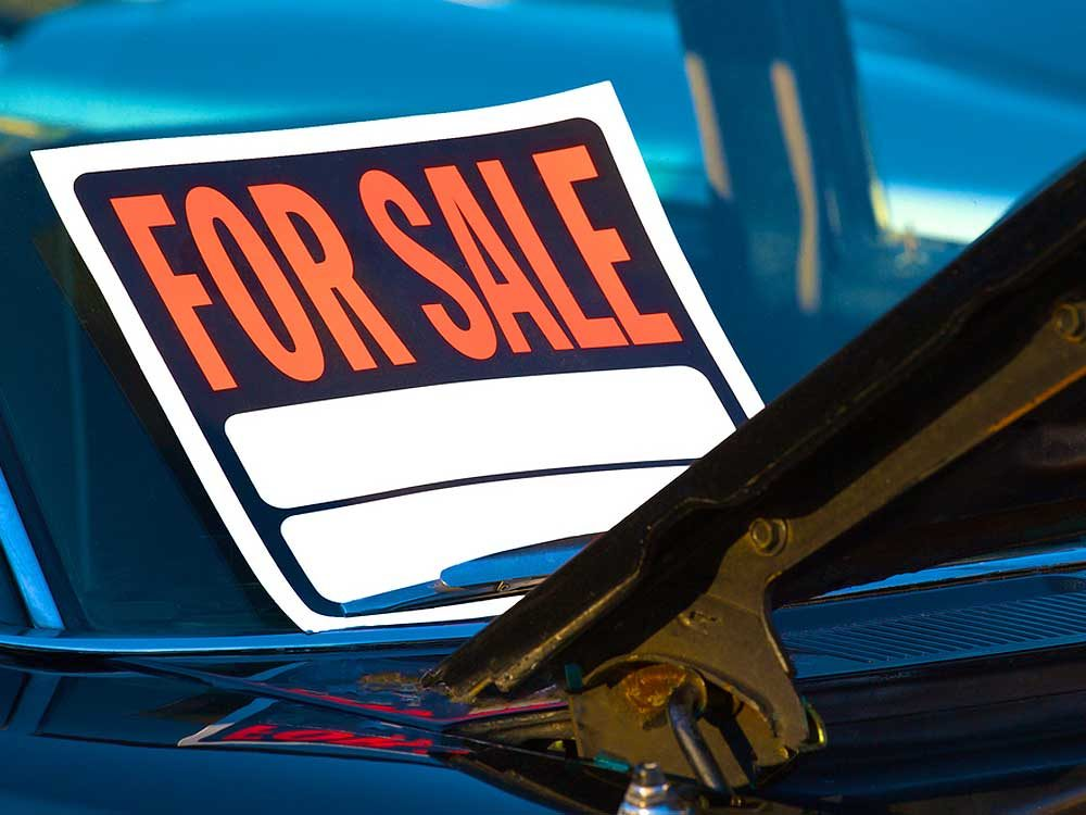 2. Beware of a used car deal that seems too good to be true.