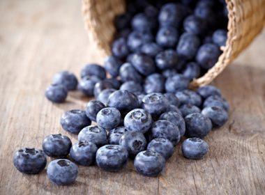 Superhero: Blueberries