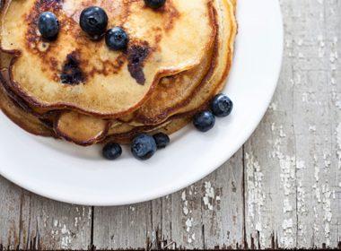 Light 'N' Luscious Blueberry Pancakes