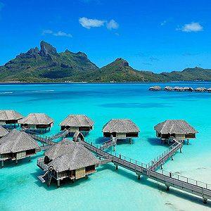 1. Four Seasons Resort - Bora Bora, French Polynesia