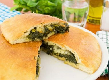 Chicken and Spinach Calzone