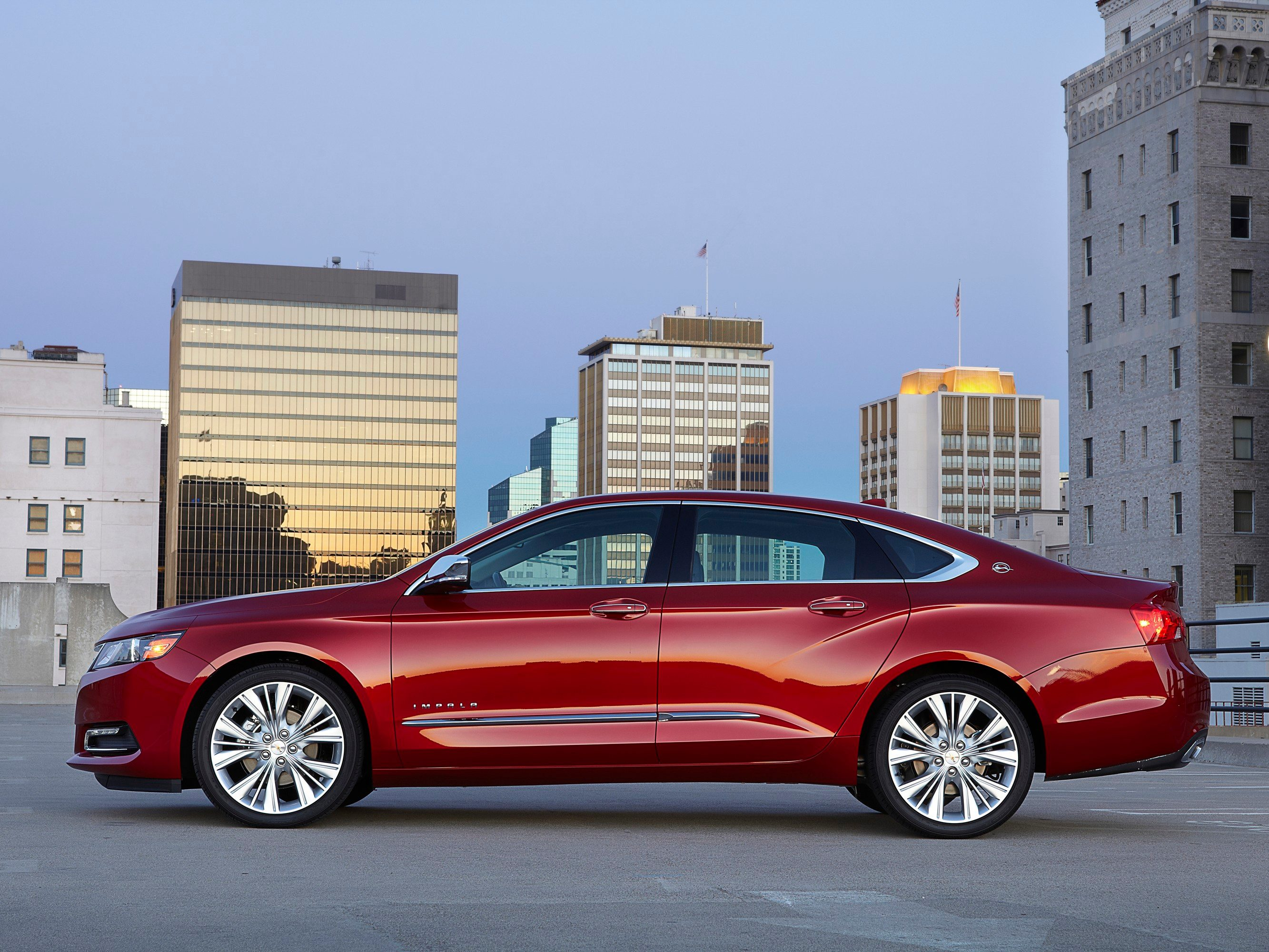 5. The 2016 Chevrolet Impala boasts new safety features.