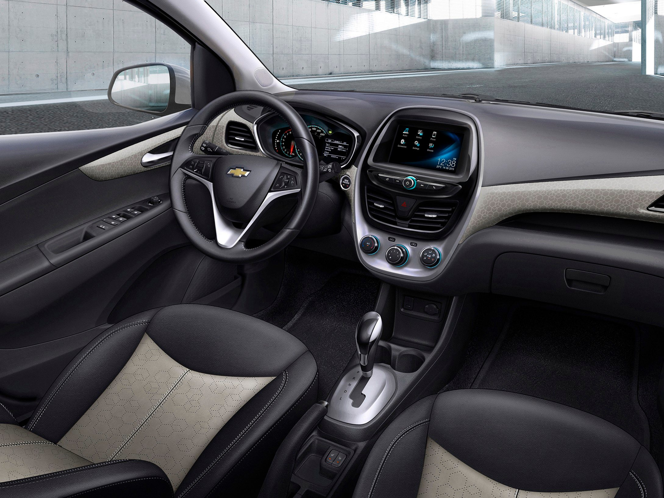 3. The 2016 Chevrolet Spark has an enhanced instrument panel.
