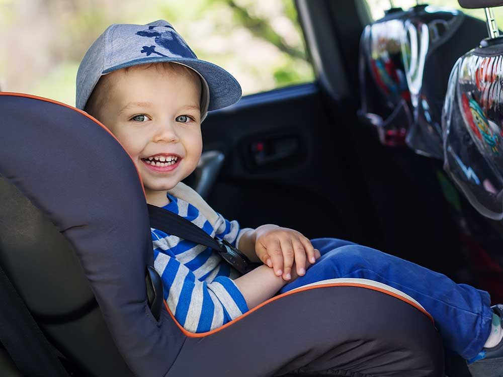 1. Child car seats need to be the right size