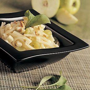 Celeriac Salad with Apple and Fruilano