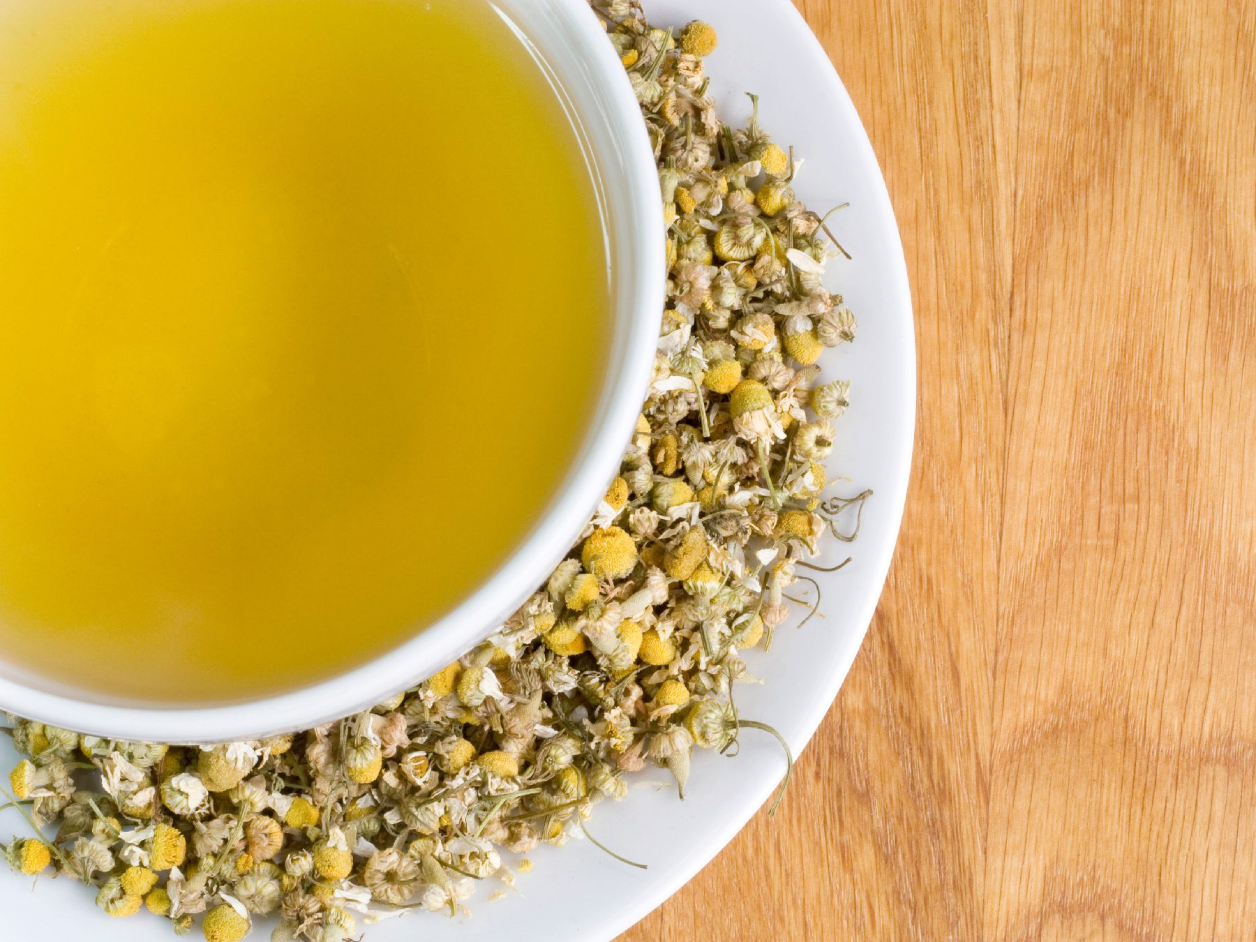 Try Chamomile Tea