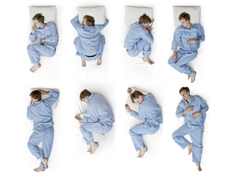 1. Change Sleep Positions