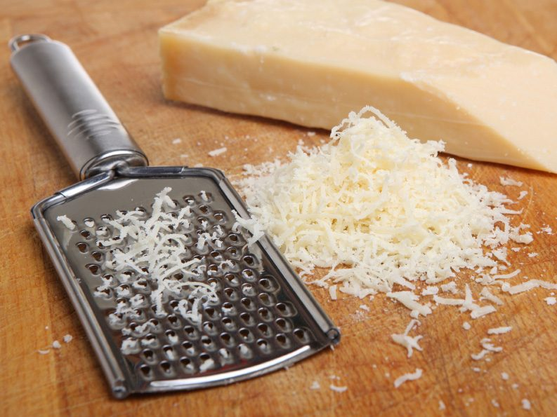 Kitchen-Cleaning Tips: Clean a Cheese Grater