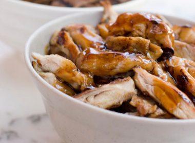 Monday: Teriyaki Chicken