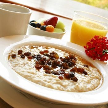 8. Have oatmeal for breakfast every morning