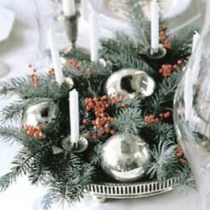 2. Christmas Ball and Centerpiece