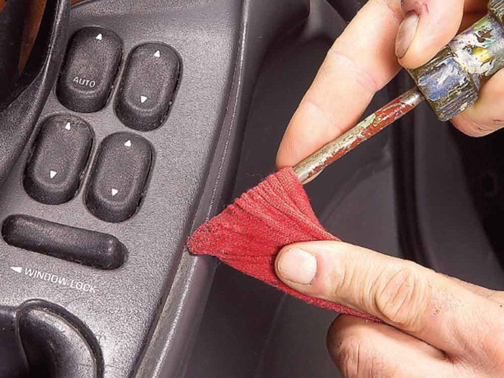 13. Clean nooks and crannies