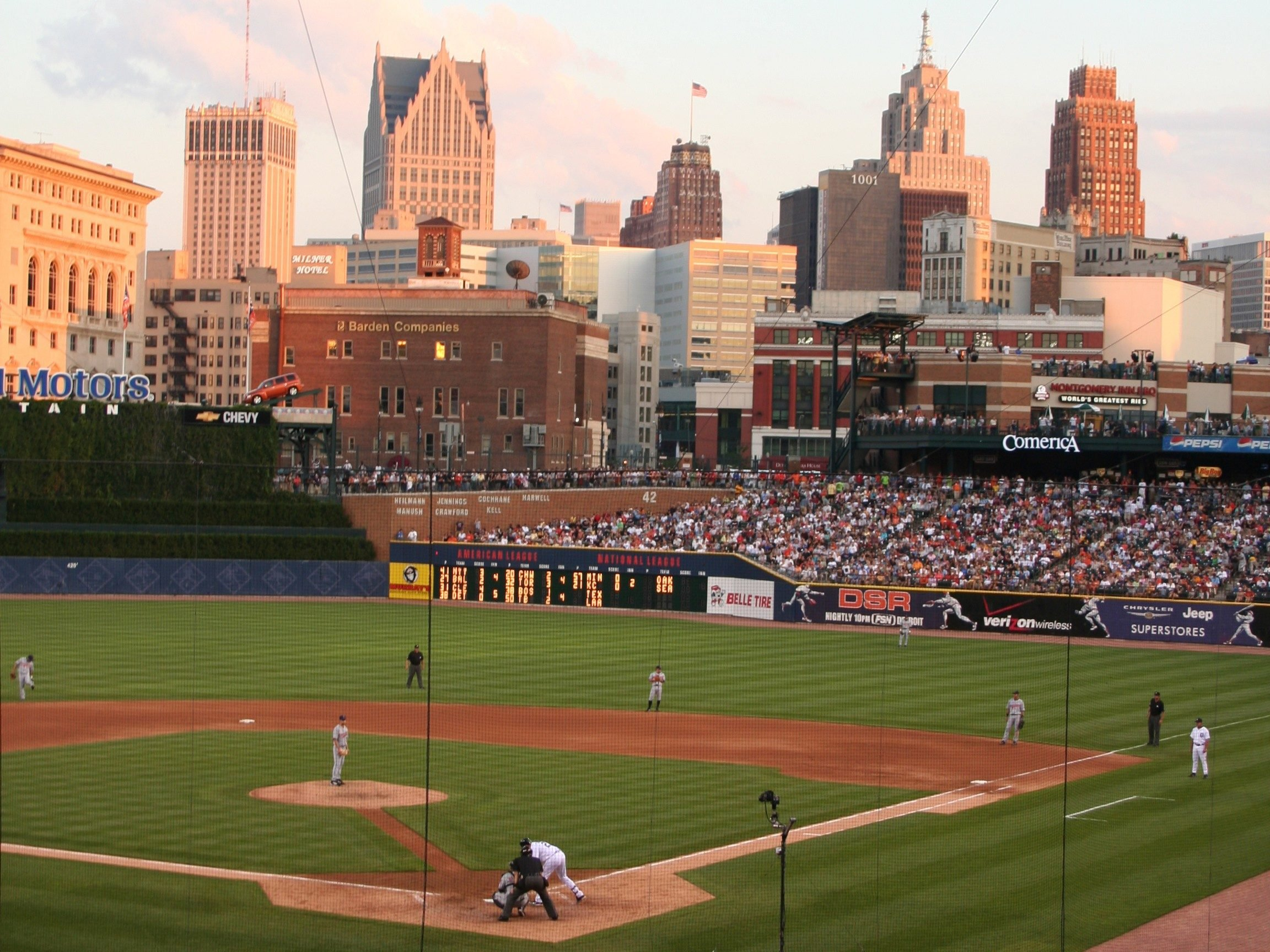 7. Comerica Park - Detroit, Michigan; home of the Tigers.