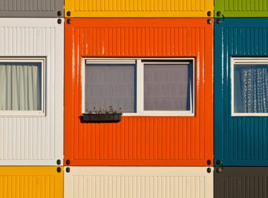 Shipping Container Homes - Amsterdam, Netherlands